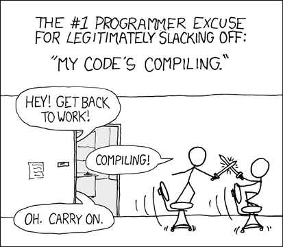 compiling!
